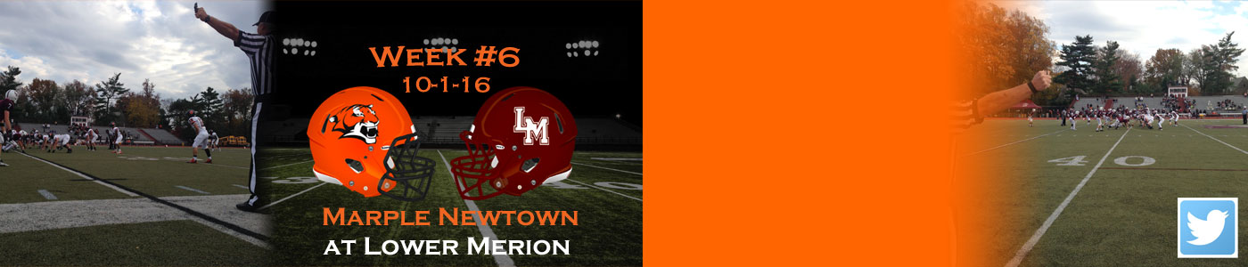 Marple Newtown at Lower Merion – 10-1-16 at 2 PM