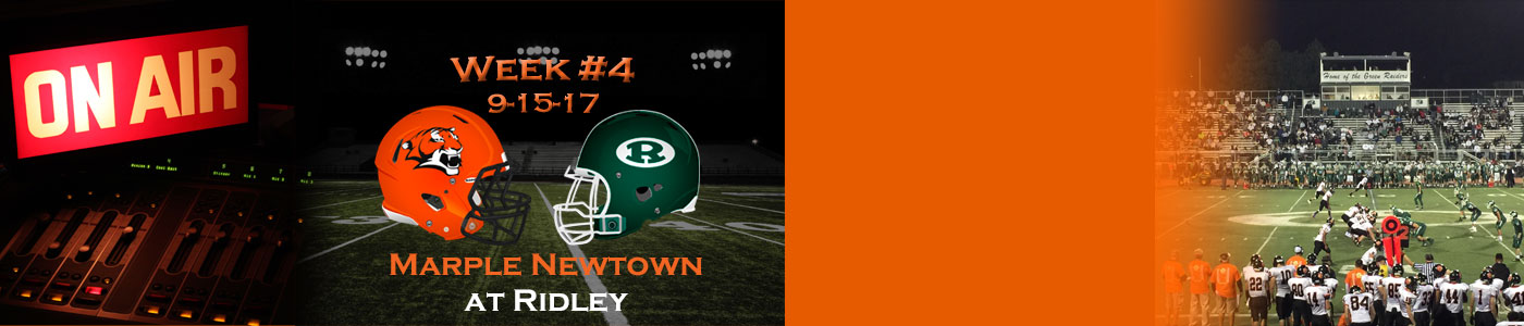 Marple Newtown at Ridley – Watch LIVE on Friday, 9-15-17