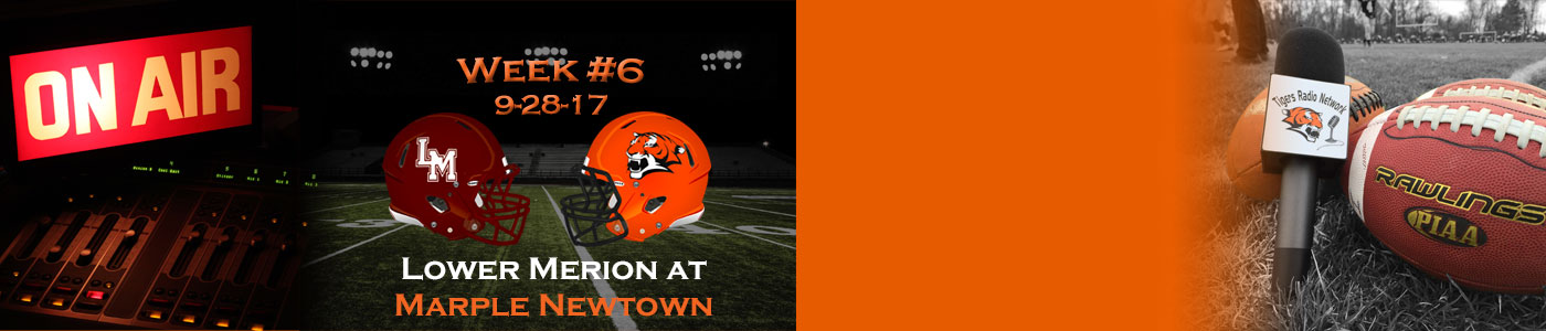 Lower Merion at Marple Newtown – Watch LIVE on Thursday, 9-28-17