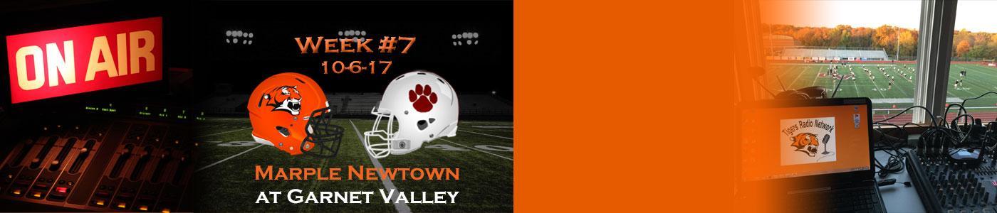 Marple Newtown at Garnet Valley – Watch LIVE on Friday, 10-6-17