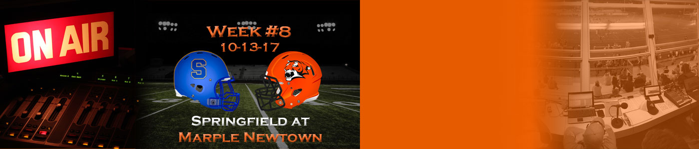Springfield at Marple Newtown – Watch LIVE on Friday, 10-13-17