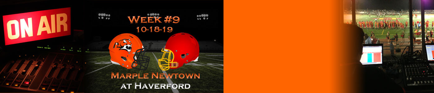Marple Newtown at Haverford – LIVE on Friday, 10-18-19